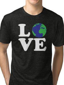 I Love World Tri-blend T-Shirt
