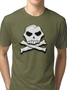 Skull & Cross Bones Tee Tri-blend T-Shirt