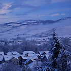 While the town was sleeping...first snow series 2008 by goddessteri211