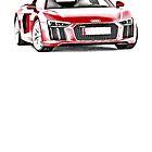 Audi R8 V10 2016 by garts