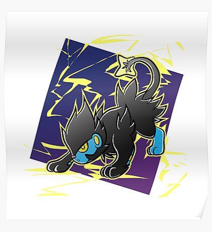 Pokemon - Luxray Poster