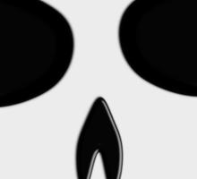 Skull Bullet Hole Tee Sticker