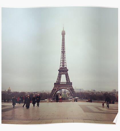 Beyond The Eiffel Tower Poster