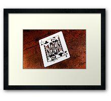 Jack of Clubs Framed Print
