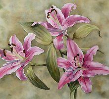 Sabrinas' Lilies by Fiona  Lee