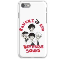 Kaneki Ken defense squad iPhone Case/Skin