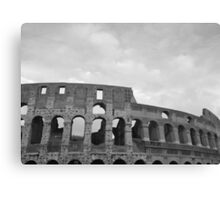 The Mighty World Of Colosseum Canvas Print
