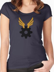 Wheel In The Sky Women's Fitted Scoop T-Shirt