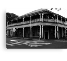 Commercial Hotel - Boonah Canvas Print