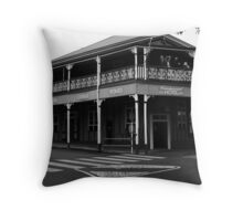 Commercial Hotel - Boonah Throw Pillow