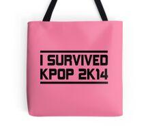 I SURVIVED KPOP 2K14 -  SM PINK Tote Bag