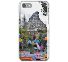 Teacups and Matterhorn iPhone Case/Skin