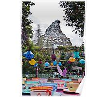 Teacups and Matterhorn Poster