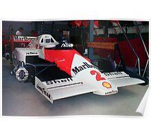 Prost's McLaren MP4 Poster