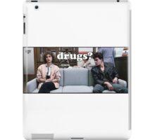 Ferris Bueller Drugs? iPad Case/Skin