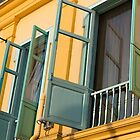 Pastel Windows by Marylou Badeaux