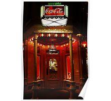 Coke Corner Poster