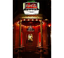Coke Corner Photographic Print
