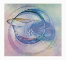 Blue Flame-Available As Art Prints-Mugs,Cases,Duvets,T Shirts,Stickers,etc Kids Clothes