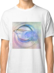 Blue Flame-Available As Art Prints-Mugs,Cases,Duvets,T Shirts,Stickers,etc Classic T-Shirt