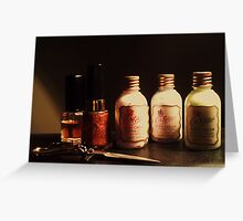 Personal Care Greeting Card