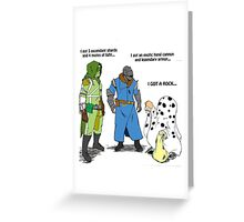 Destiny Humor (peanuts) color Greeting Card