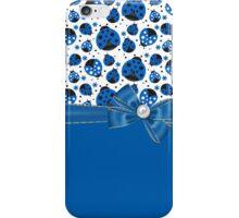 Fun Blue Ladybugs iPhone Case/Skin