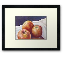 She'll Be Apples! Framed Print