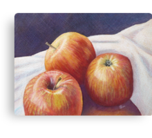 She'll Be Apples! Canvas Print