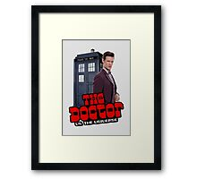 The Doctor VS. The Universe Framed Print