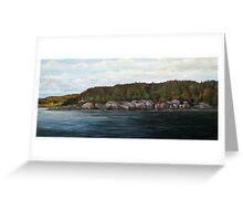 Mons Point - Port Munro - Marathon Ontario Greeting Card