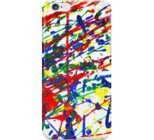 Primary Splatter iPhone Case/Skin