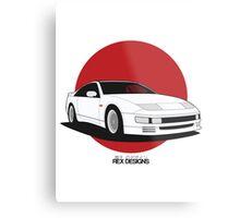 Nissan Fairlady 300ZX Z32 (Rising Sun) Metal Print