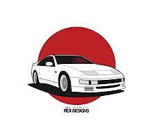 Nissan Fairlady 300ZX Z32 (Rising Sun) Photographic Print