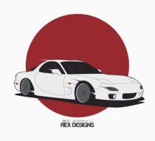 Mazda RX7 (Rising Sun) by RexDesigns