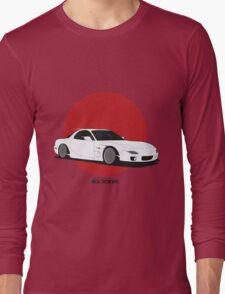 Mazda RX7 (Rising Sun) Long Sleeve T-Shirt