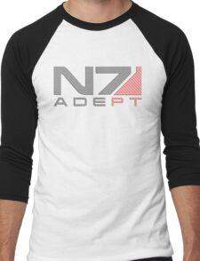 Carbon fiber Adept MkII Men's Baseball ¾ T-Shirt