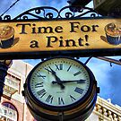 Pub Sign by Barbara  Brown