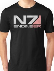 Carbon fiber Engineer Unisex T-Shirt