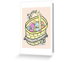 Spring is When Life is Alive in Everything (full color) Greeting Card