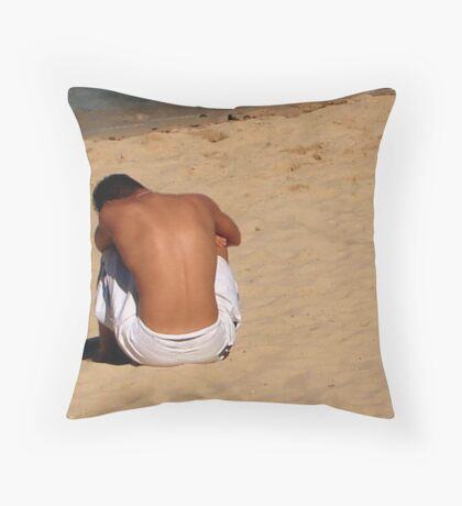 Breaking Up Is Hard To Do Throw Pillow