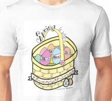 Spring is When Life is Alive in Everything (partial color) Unisex T-Shirt