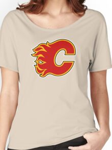 Calgary Flames Women's Relaxed Fit T-Shirt