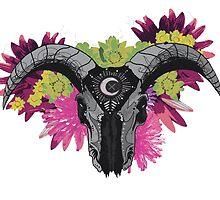 Cosmic Bull II by PrettyMorbid
