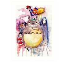 The Amazing Ghibli Art Print