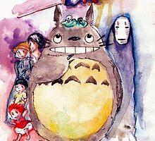 The Amazing Ghibli by mossmeg000