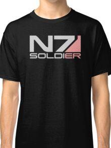Carbon Fiber Soldier Classic T-Shirt
