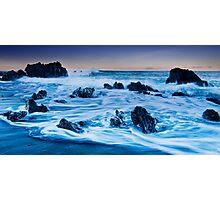 Pencarrow Licorice Rocks Photographic Print