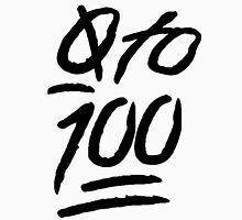 0 To 100 [Black] Unisex T-Shirt