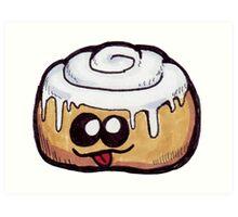 Baked Goods -Sticky Bun Art Print